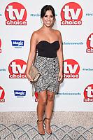 Fiona Wade<br /> at the TV Choice Awards 2018, Dorchester Hotel, London<br /> <br /> ©Ash Knotek  D3428  10/09/2018