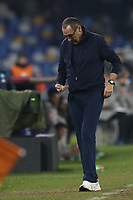 Maurizio Sarri coach of Juventus dejection<br /> Napoli 26-01-2020 Stadio San Paolo <br /> Football Serie A 2019/2020 SSC Napoli - Juventus FC<br /> Photo Cesare Purini / Insidefoto
