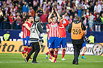 Atletico de Madrid's Gabi during La Liga Match at Vicente Calderon Stadium in Madrid. May 14, 2016. (ALTERPHOTOS/BorjaB.Hojas)