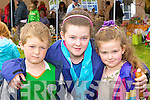 Sean, Aoife and Chloe Casey Kilgarvan having fun at the Kilgarvan agricultural show on Sunday .