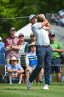 Scott Stallings (USA) watches his tee shot on 3 during round 2 of the 2019 Charles Schwab Challenge, Colonial Country Club, Ft. Worth, Texas,  USA. 5/24/2019.<br /> Picture: Golffile   Ken Murray<br /> <br /> All photo usage must carry mandatory copyright credit (© Golffile   Ken Murray)