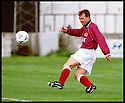 3rd October 98      .Copyright Pic : James Stewart   .STENHOUSEMUIR V ALBION ROVERS.ALBERT CRAIG FIRES HOME STENNY'S FIRST GOAL......Payments to :-.James Stewart Photo Agency, Stewart House, Stewart Road, Falkirk. FK2 7AS      Vat Reg No. 607 6932 25.Office : 01324 630007        Mobile : 0421 416997.If you require further information then contact Jim Stewart on any of the numbers above.........