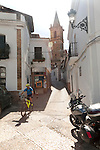 Historic church village of Alajar, Sierra de Aracena, Huelva province, Spain