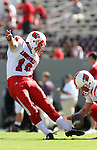 29 September 2007: Louisville's Art Carmody. The University of Louisville Cardinals defeated the North Carolina State University Wolfpack 29-10 at Carter-Finley Stadium in Raleigh, North Carolina in an NCAA College Football Division I game.