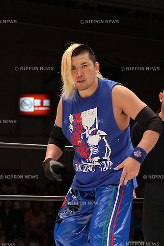 FUJITA, OCTOBER 8th, 2010 - Pro Wrestling : Tokyo Gurentai event NOSAWA BOM-BA-YE at Korakuen Hall in Tokyo, Japan. (Photo by Yukio Hiraku/AFLO)