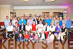 The Orconn Golf Society which is made up of descendents of the O'Connor and O'Rourke families from Dooneen, Castleisland who held the bi annual reunion in the Crown Hotel Castleisland on Friday night..