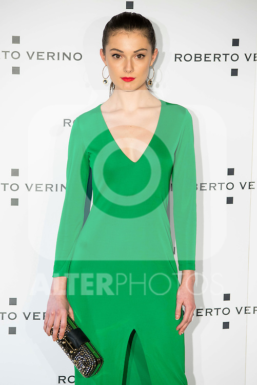 "Sophie Norbury during the presentation of the new Spring-Summer collection ""Un Balcon al Mar"" of Roberto Verino at Platea in Madrid. March 16, 2016. (ALTERPHOTOS/Borja B.Hojas)"