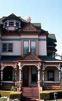 San Diego: Britt House, 4th and Maple.  (Photo '85)