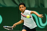 Wateringen, The Netherlands, March 9, 2018,  De Rijenhof , NOJK 12/16 years, Jip Langerhuizen (NED)<br /> Photo: www.tennisimages.com/Henk Koster