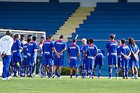 SÃO CAEATANO,SP,30 AGOSTO 2012TREINO SÃO CAETANO  - O tecnico Emerson Leão durante treino  do São Caetano na tarde  de hoje no estadio Anacleto Campanela no ABC .FOTO ALE VIANNA - BRAZIL PHOTO PRESS