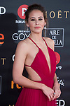 Irene Escolar attends red carpet of Goya Cinema Awards 2018 at Madrid Marriott Auditorium in Madrid , Spain. February 03, 2018. (ALTERPHOTOS/Borja B.Hojas)