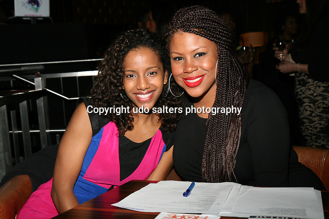 Jenna and Mishka Attend The 4th Annual Beauty and the Beat: Heroines of Excellence Awards Honoring Outstanding Women of Color on the Rise Hosted by Wilhelmina and Brand Jordan Model Maria Clifton Held at the Empire Room, NY 3/22/13