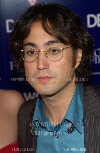 Singer SEAN LENNON at the Los Angeles premiere of Wonderland..Sept 24, 2003