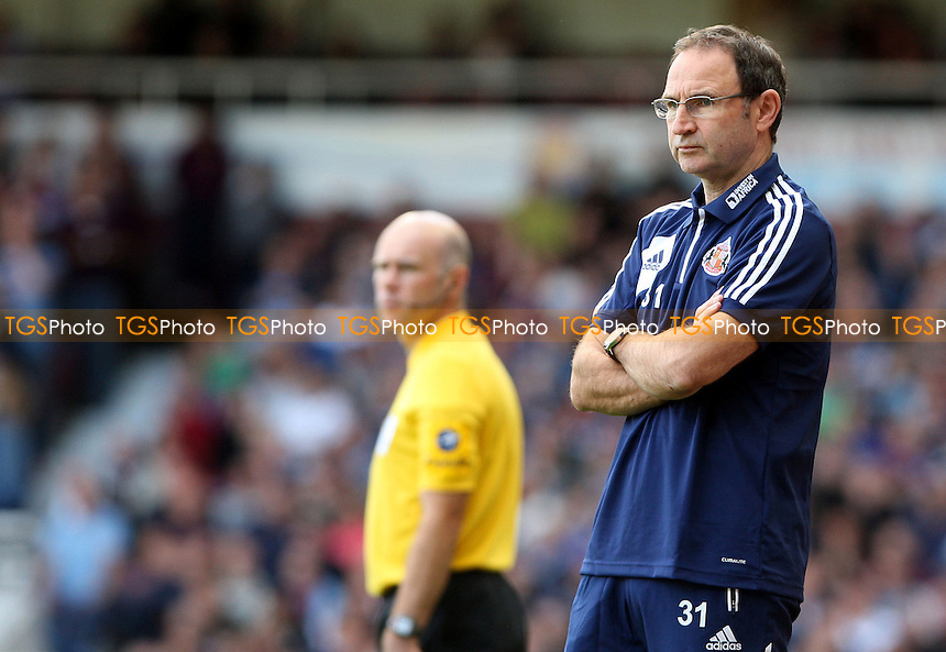 Sunderland manager Martin O'Neill - West Ham United vs Sunderland - Barclays Premier League at Upton Park, West Ham - 22/09/12 - MANDATORY CREDIT: Rob Newell/TGSPHOTO - Self billing applies where appropriate - 0845 094 6026 - contact@tgsphoto.co.uk - NO UNPAID USE.