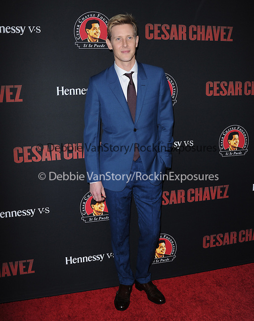 Gabriel Mann attends The  Cesar Chavez Los Angeles Premiere held at TCL Chinese Theatre in Hollywood, California on March 20,2014                                                                               © 2014 Hollywood Press Agency