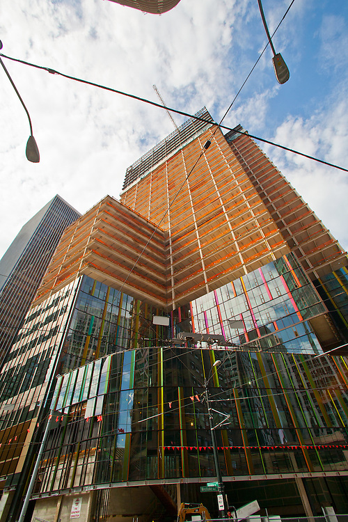 Seattle, Rufus 2.0, Amazon's new headquarters, under construction, Denny Triangle,