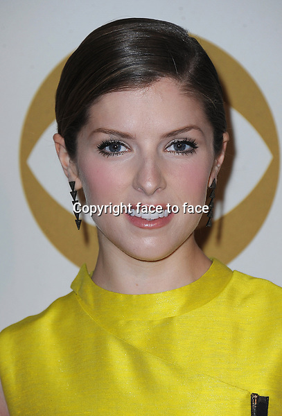LOS ANGELES, CA - JANUARY 27:  Anna Kendrick arrives at &quot;The Night That Changed America: A Grammy Salute to The Beatles&quot; at the Los Angeles Convention Center West Hall on January 27, 2014 in Los Angeles, California. <br />