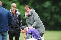 KAATSEN: HOMMERTS-JUTRYP: 13-06-2015, NK Jongens, KV Makkum wint in de finale met 5 - 3 en 6 - 6 van Sexbierum/Pitersbierum, Jan Sjouke Weewer teleurgesteld na verlies, ©foto Martin de Jong