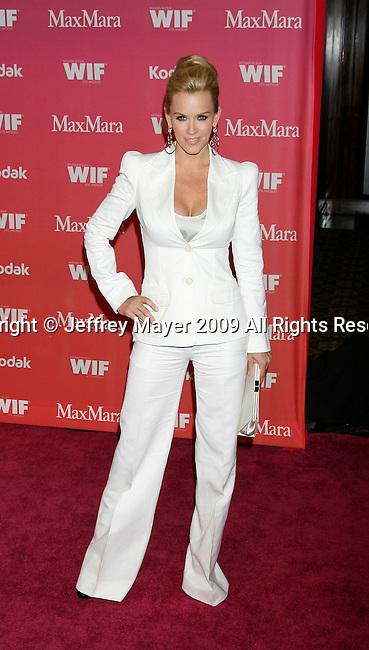 CENTURY CITY, CA. - June 12: Jenny McCarthy arrives at Women In Film's 2009 Crystal + Lucy Awards held at the Hyatt Regency Century Plaza on June 12, 2009 in Century City, California.