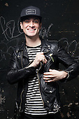 Panic At The Disco - Brendon Urie - photosession in<br /> Paris France -   24 May 2016.  Photo credit: Manon Violence/Dalle/IconicPix