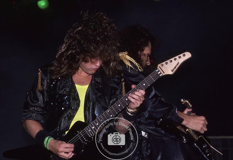 Michael Wilton & Chris DeGarmo of Queensryche 1986