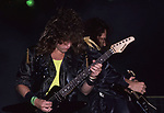 Michael Wilton & Chris DeGarmo of Queensryche 1986