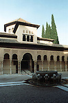 Court of the Lions in the Alhambra Palace<br /> <br /> Patio de los Leones en el Palacio de Alhambra<br /> <br /> L&ouml;wenhof im Alhambra Palast<br /> <br /> 3919 x 2592 px<br /> Original: 35 mm slide transparancy