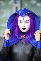 Raven from Teen Titans Cosplay, Renton City Comicon 2017, WA, USA.
