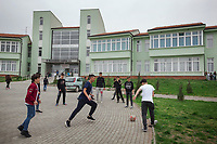 Serbia. Veliki Trnovac (in Albanian: Tërnoc i Madh) is a town in the municipality of Bujanovac, located in the Pčinja District of southern Serbia. « Muharrem Kadriu » Elementary School. The school's students are all from Albanian ethnicity. Students play football during classes' break in school yard. Bujanovac is located in the geographical area known as Preševo Valley. The Pestalozzi Children's Foundation (Stiftung Kinderdorf Pestalozzi) is advocating access to high quality education for underprivileged children. It supports in Bujanovac a project called » Our towns, our schools ». 16.4.2018 © 2018 Didier Ruef for the Pestalozzi Children's Foundation