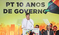 SAO PAULO, SP, 20 FEVEREIRO 2013 -  10 ANOS DO PARTIDO DOS TRABALHADORES GOVERNO FEDERAL NO PODER -  Jorge Lapas prefeito de Osasco durante a festa do Partido dos Trabalhadores (PT) para celebrar 33 anos do partido e dez anos no comando do Governo Federal, no Holiday Inn Parque Anhembi, na zona norte de São Paulo, nesta quarta-feira, 20. FOTO: WILLIAM VOLCOV / BRAZIL PHOTO PRESS