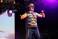 LONDON, ENGLAND - JUNE 3: Robin Pors of 'Vengaboys' performing at Mighty Hoopla at Brockwell Park, Brixton on June 3, 2018 in London<br /> CAP/MAR<br /> &copy;MAR/Capital Pictures