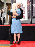 07 January 2019 - Hollywood, California - Lady Gaga, Sam Elliott . Sam Elliott Hand And Footprint Ceremony held at TCL Chinese Theatre. Photo Credit: Birdie Thompson/AdMedia