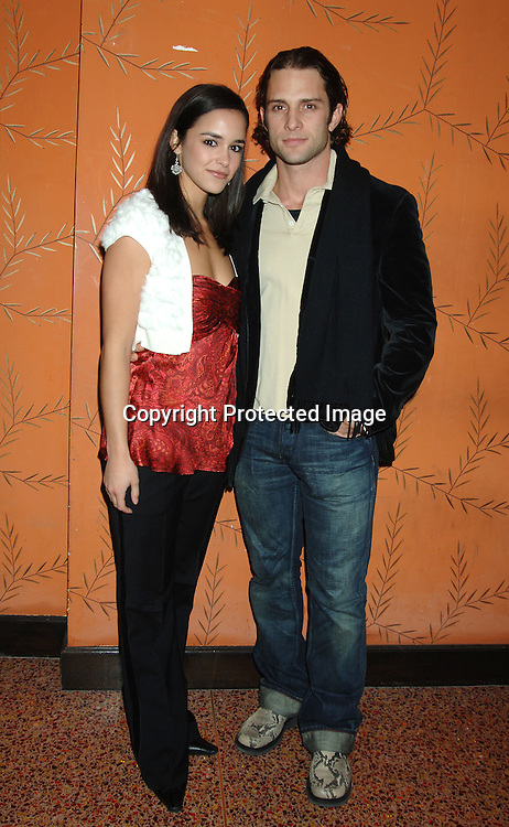 Melissa Gallo and David Fumero ..at the One Life To Live Christmas Party at LQ on     December 12, 2005. ..Photo by Robin Platzer, Twin Images