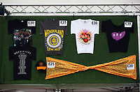 Pictured: Official merchandise for sale. Wednesday 14 June 2017<br /> Re: Take That concert at the Liberty Stadium, Swansea, Wales, UK