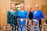 Theresa Collins, Mamie Kearney, Mary Kearney and Eileen Mulvihill from Ballylongford at the Big Bus BBQ in aid of Keerry Cancer Support Group in the Pavillon Ballygary House Hotel on Sunday