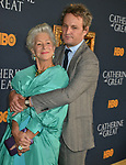 "Helen Mirren, Jason Clark 043 attends the Los Angeles Premiere Of The New HBO Limited Series ""Catherine The Great"" at The Billy Wilder Theater at the Hammer Museum on October 17, 2019 in Los Angeles, California."