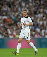 Jan Vertonghen of Tottenham Hotspur during the UEFA Champions League Group stage match between Tottenham Hotspur and Monaco at White Hart Lane, London, England on 14 September 2016. Photo by Andy Rowland.