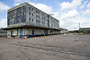 The Trent basin; British Waterways warehouse; a site in Nottingham awaiting development,