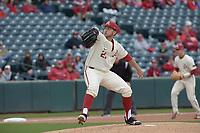 NWA Democrat-Gazette/J.T. WAMPLER Arkansas' Kacey Murphy delivers a pitch to USC Sunday March 4, 2018. Arkansas won 7-6 in seven innings.