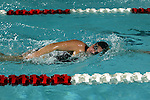 2003-04 Wisconsin Badgers swim team photographed on September 9, 2003 at the Natatorium in Madison, Wisconsin. (Photo by David Stluka).