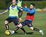 Jason Holt and Nicky Law