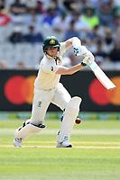 27th December 2019; Melbourne Cricket Ground, Melbourne, Victoria, Australia; International Test Cricket, Australia versus New Zealand, Test 2, Day 2; Steve Smith of Australia hits the ball - Editorial Use