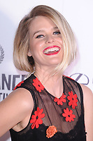 Alice Eve<br /> arriving for the World premiere of &quot;Bees Make Honey&quot; at the Vue West End, Leicester Square, London<br /> <br /> <br /> &copy;Ash Knotek  D3314  23/09/2017