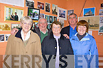 Enjoying the refreshments at Lixnaw community centre to mark the rededication of St. Michael's chruch on Friday night were, Kate Keane,Kathleen Linehan, Margaret, Paud and Jimmy Galvin,   Copyright Kerry's Eye 2008