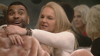 Ginuwine, India Willoughby<br /> Celebrity Big Brother 2018 - Day 4<br /> *Editorial Use Only*<br /> CAP/KFS<br /> Image supplied by Capital Pictures