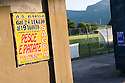 "SAGRA DEL ""PESCE E PATATE"" 2011, BARGA, ITALY<br /> <br /> STADIO COMUNALE ""JOHNNY MOSCARDINI"", HOME OF A.S. BARGA AND THE LOCATION OF THE SAGRA DEL ""PESCE E PATATE"" 2011"