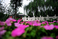 Aug. 6, 2008; Beijing, CHINA; General view of a park near Tiananmen Square in Beijing. The Olympics begin at 8pm on August 8, 2008. Mandatory Credit: Mark J. Rebilas-