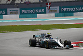 29th September 2017, Sepang, Malaysia;  Motorsports: FIA Formula One World Championship 2017, Grand Prix of Malaysia, #77 Valtteri Bottas (FIN, Mercedes AMG Petronas F1 Team),