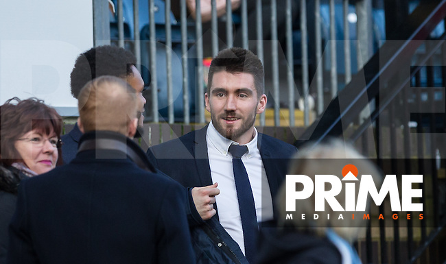 Former Wycombe Goalkeeper Matt Ingram of QPR watches the match during the Sky Bet League 2 match between Wycombe Wanderers and Leyton Orient at Adams Park, High Wycombe, England on 23 January 2016. Photo by Andy Rowland / PRiME Media Images.