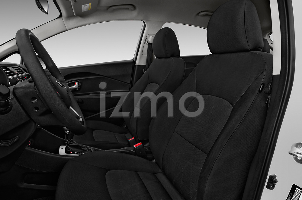 Front seat view of 2016 KIA Rio LX 5 Door Hatchback Front Seat  car photos